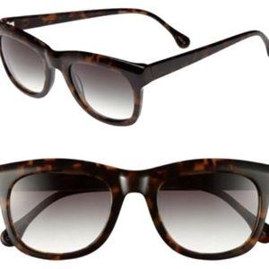 NEW Elizabeth and James tortoise Sunglasses +case